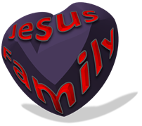 Jesus Family heart