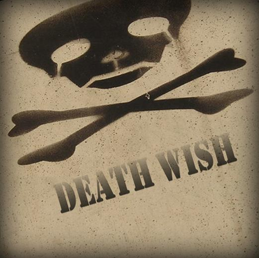 Death Wish Skull and Crossbones